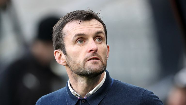 Nathan Jones' Luton remain six points clear at the top of League Two