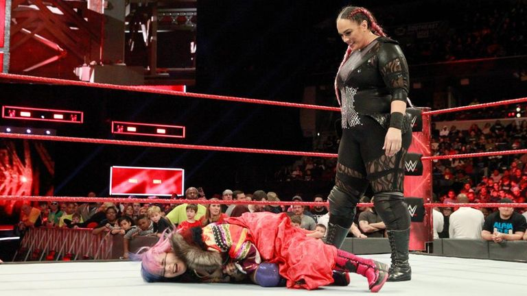 Nia Jax is currently slated to face Asuka in singles competition at Elimination Chamber, live on Sky Sports Box Office