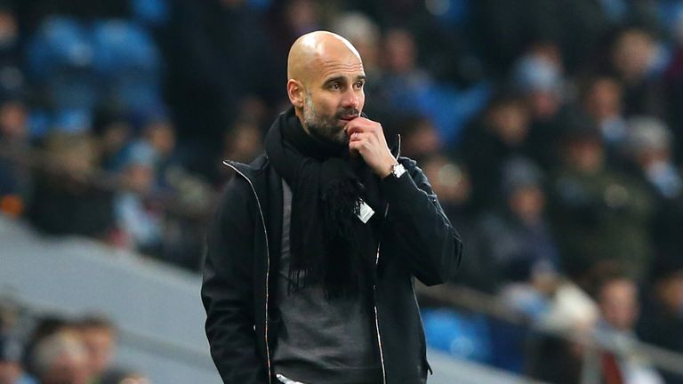 Pep Guardiola has made his players aware of City's record at Anfield