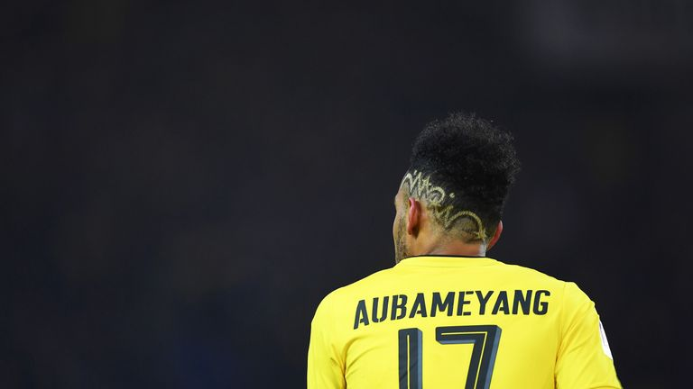 Aubameyang has scored 21 goals in 23 appearances for Durtmund this season