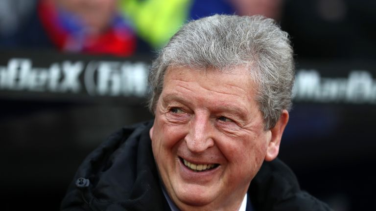 Roy Hodgson prior to the Premier League match between Crystal Palace and Burnley at Selhurst Park