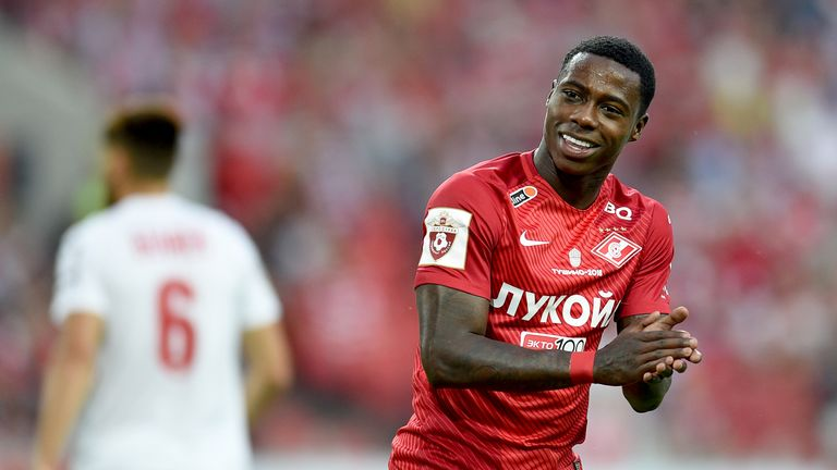 Promes was named 2017 Russian Premier League footballer of the year