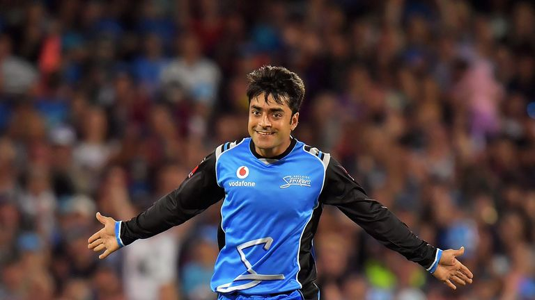 Rashid Khan, 19, was the youngest player to be bought for over a million dollars