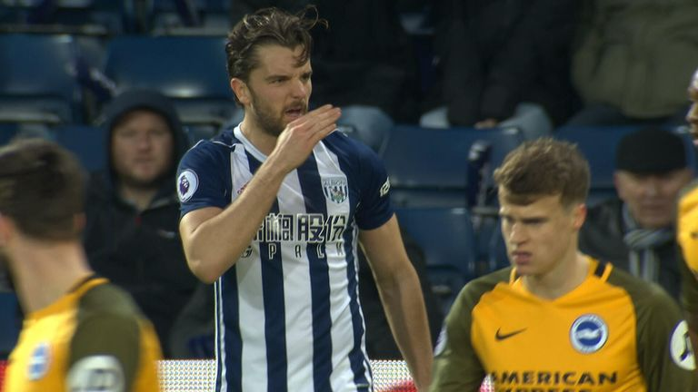 Jay Rodriguez was reported to the referee for an alleged comment to Gaetan Bong