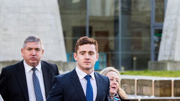 Paddy Jackson is looking for a new club after being sacked by Ulster
