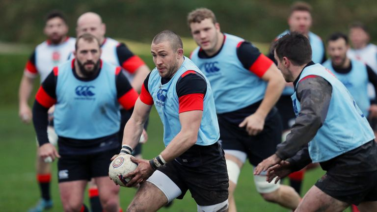 Mike Brown has not been ruled out of the Italy clash after suffering blurred vision