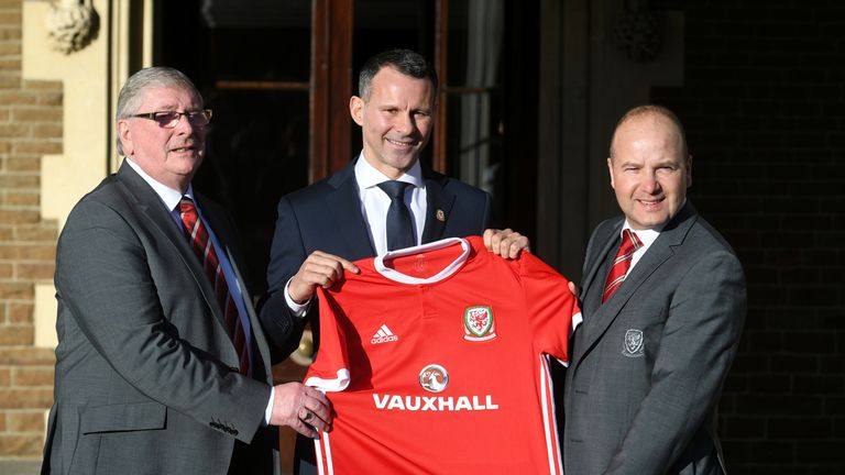 Giggs was appointed Wales manager last Monday