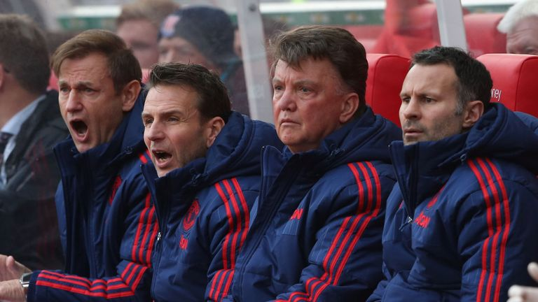 Giggs worked as Louis van Gaal's assistant at Old Trafford for two years