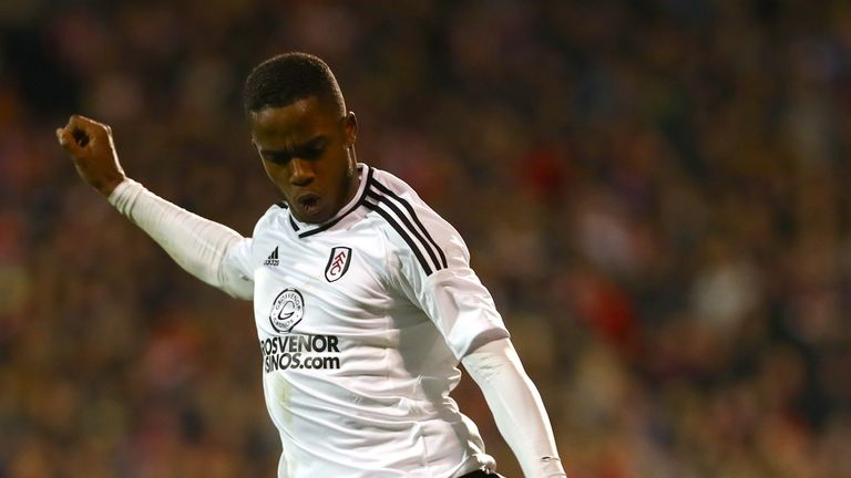 Ryan Sessegnon of Fulham has attracted a lot of interest