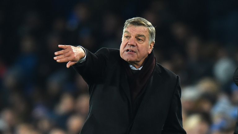 Sam Allardyce was England manager at the start of World Cup qualifying