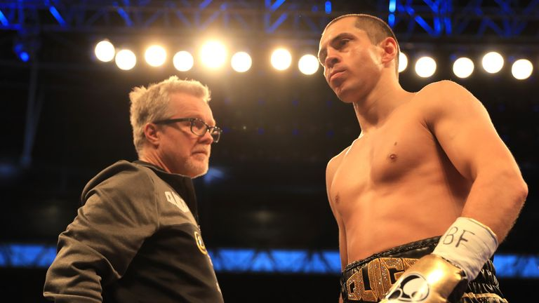 Freddie Roach is preparing Scott Quigg for his US debut against Oscar Valdez this weekend, live on Sky Sports