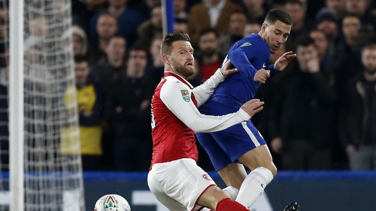 Arsenal and Chelsea have drawn all four meetings this season