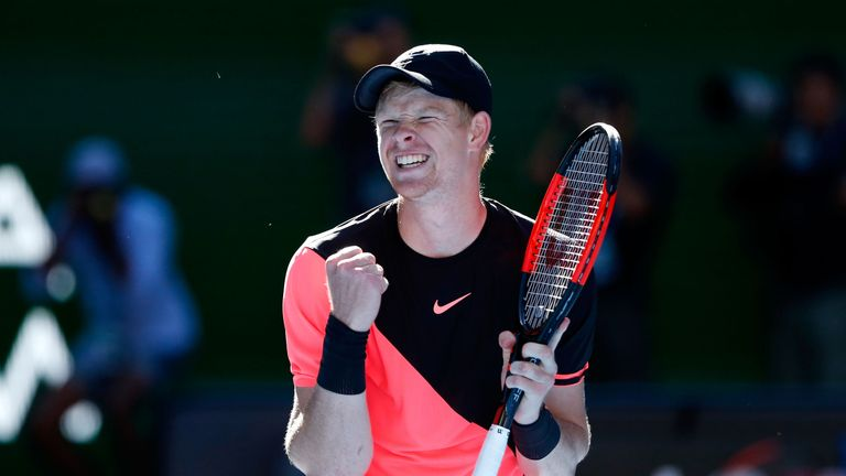 Kyle Edmund is set to climb to the top of British men's tennis