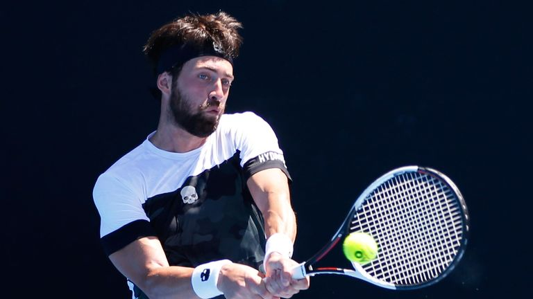 The British No 2 beat Nikoloz Basilashvili in three hours and 59 minutes