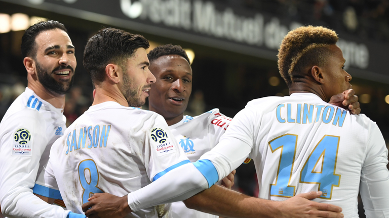 Florian Thauvin helped Marseilles on their way to a 3-0 win against Rennes