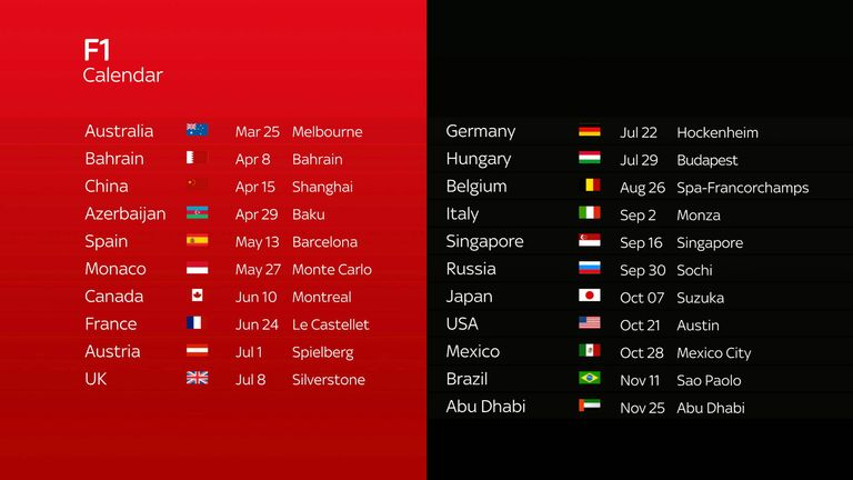 F1 Calendar 2019 Download F1 2018: How to add the 2018 Grand Prix schedule to your