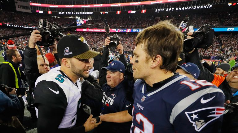 Jacksonville ran New England close in the AFC Championship game but just came up short