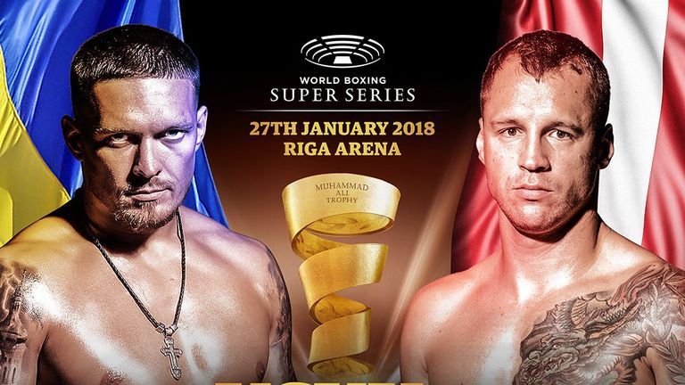 Usyk faces Mairis Briedis in the World Boxing Super Series on Saturday