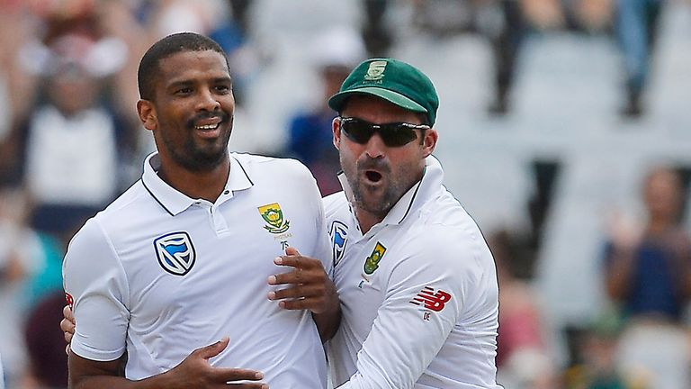 Vernon Philander took a career-best 6-42 in the second innings against India