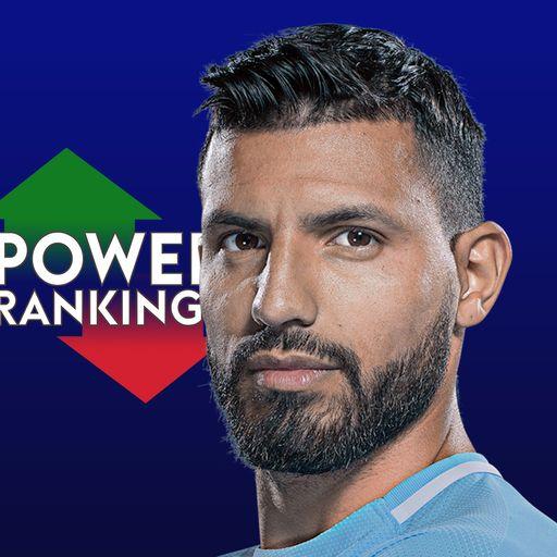 Aguero tops PL rankings