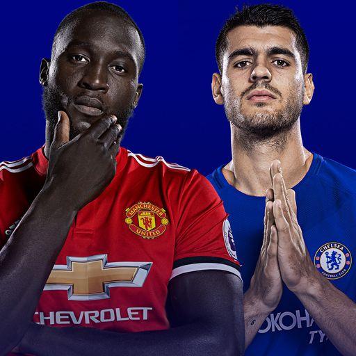 Man Utd v Chelsea live on Sky