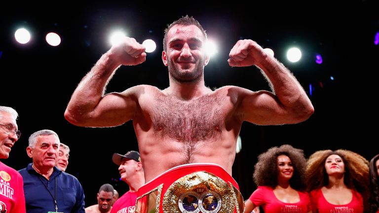 Murat Gassiev joins a star-studded heavyweight division with a 26-1 record