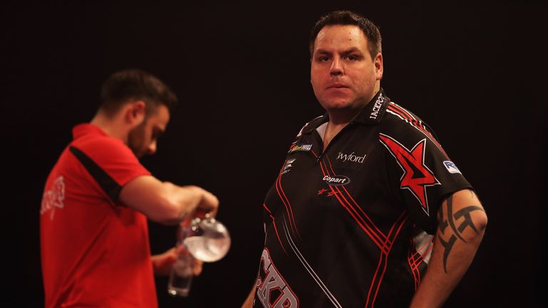 Adrian Lewis' quarter-final win was marred by an altercation with Jose Justicia.