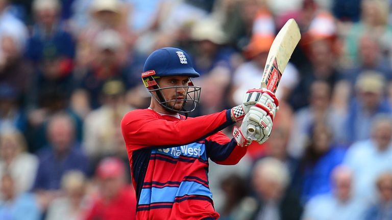 Could Alex Hales feature in the IPL for the first time at the top of the order for Sunrisers?