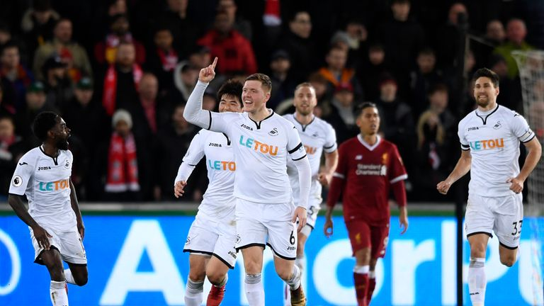 Alfie Mawson joined Swansea from Barnsley in 2016