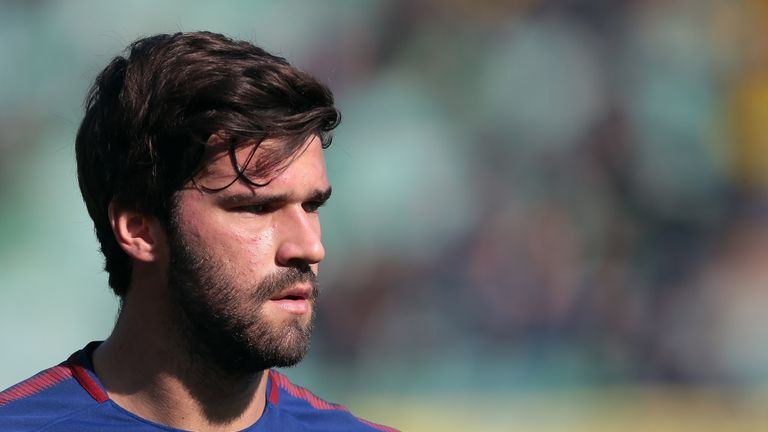 Liverpool want to sign Roma goalkeeper Alisson ahead of the summer window