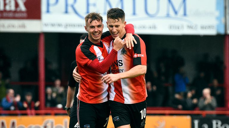 Northern Premier League leaders Altrincham FC are supporting the Football v Homophobia campaign