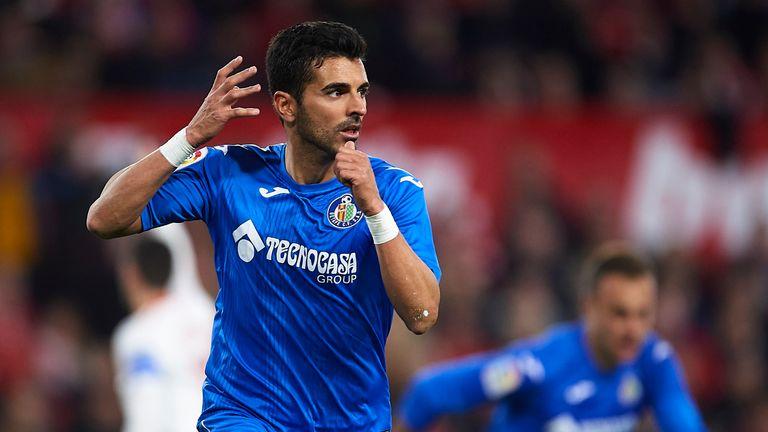Angel Rodriguez scored twice for Getafe