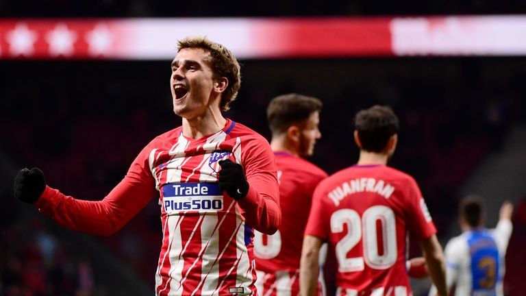 Antoine Griezmann may be a Barcelona player before the World Cup starts