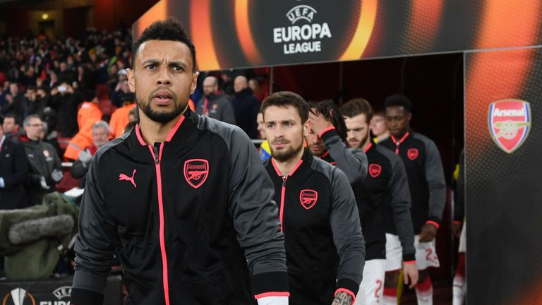 Arsenal are in the Europa League after finishing fifth in the Premier League last season