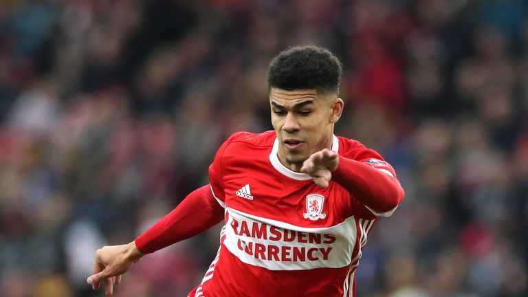 Ashley Fletcher was on target but could not stop Middlesbrough losing to Rochdale
