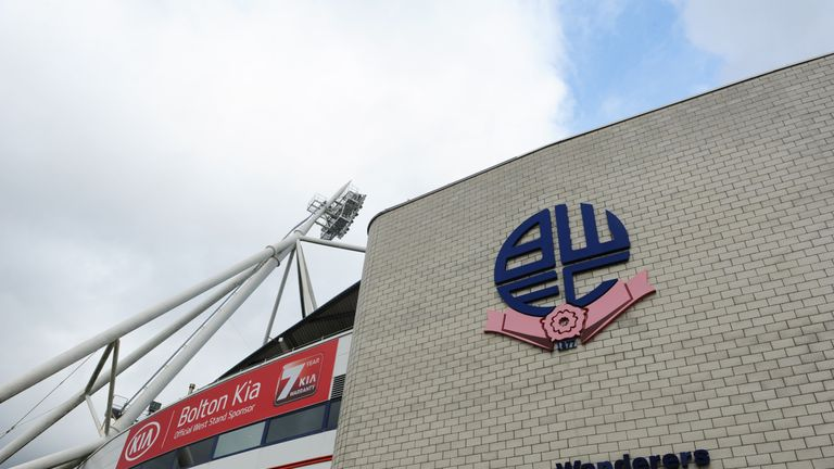 Bolton were potentially facing a points deduction and transfer embargo