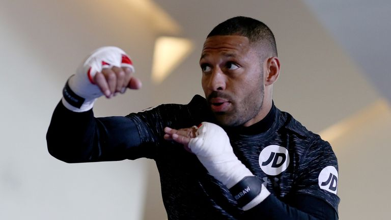 Kell Brook returns on Saturday