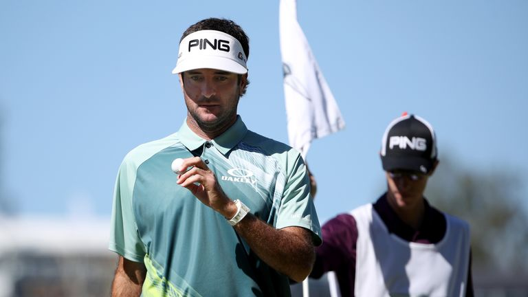 Bubba Watson survived a test of nerve to clinch a two-shot win