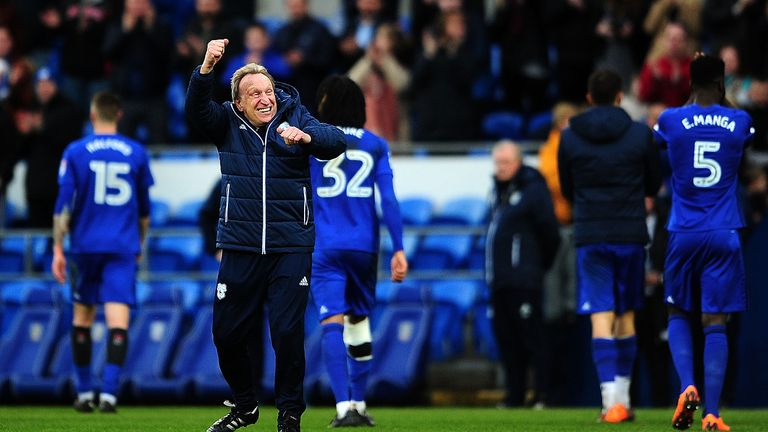 Neil Warnock is aiming for the Premier League