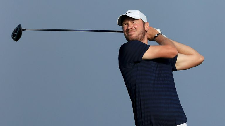 Chris Wood was Luiten's closest challenger but a late bogey cost him a winning chance