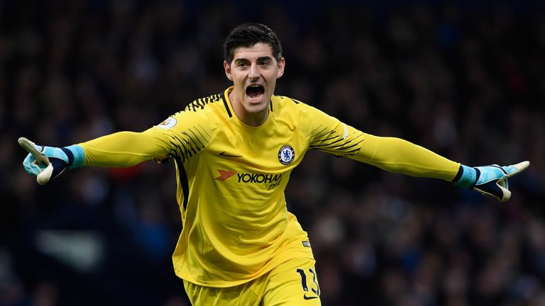 Thibaut Courtois has been linked with a move to PSG