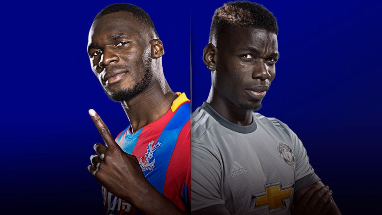 Crystal Palace host Manchester United on MNF