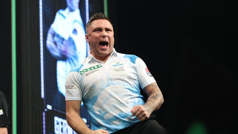 Welsh ace Gerwyn Price will take on Gary Anderson in Cardiff on Thursday