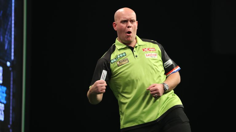 Michael van Gerwen is hoping to bounce back with victory in Newcastle