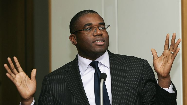 David Lammy believes more needs to be done for equality in English football