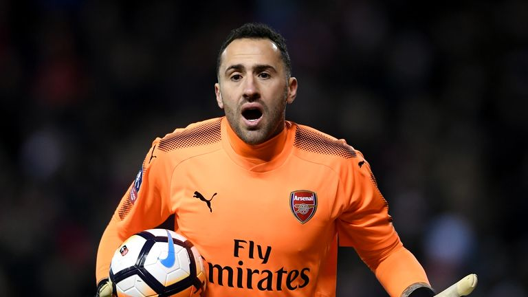 David Ospina will continue in goal in cup competitions, says Arsene Wenger