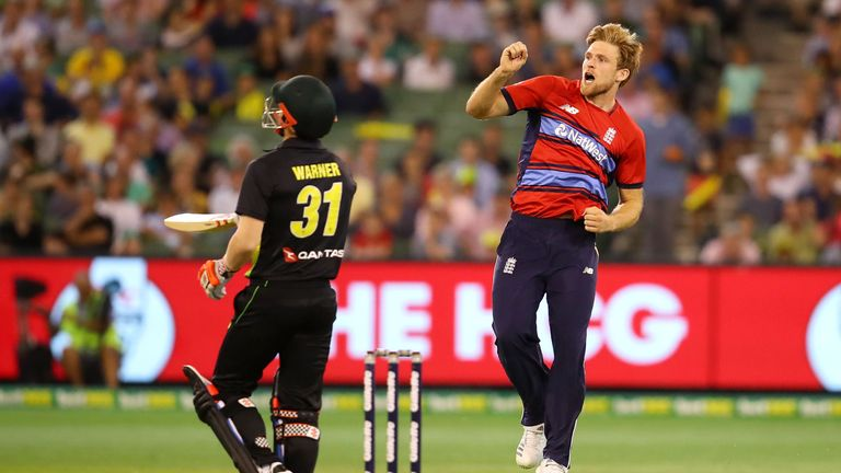 David WIlley impressed on IPL debut for CSK