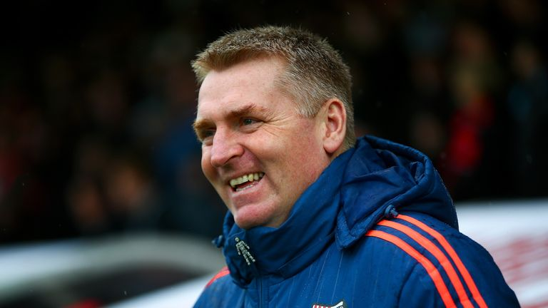 Brentford boss Dean Smith is understood to be one of the candidates in the running for the West Brom job