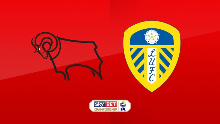 Watch Derby v Leeds live on Sky Sports Football on Wednesday