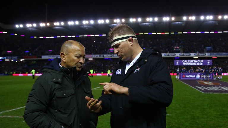 Hartley enjoys a strong relationship with England head coach Eddie Jones